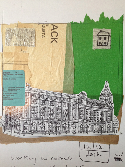 Laura+Bucci+5+Minute+Collage+and+productivity+blog+post Art Journalling Inspiration | Spontaneity and 5 Minute Collages by Laura Bucci
