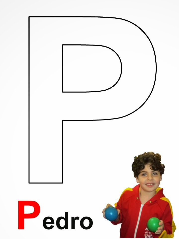 Pedro alfabeto