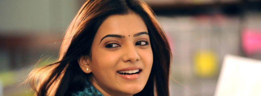 Samantha in eega movie facebook cover