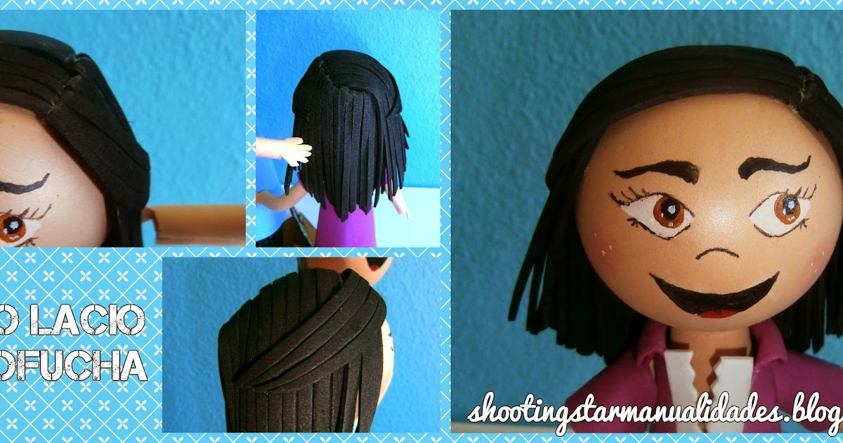 fd9794b73c2 Tip cabello pelos lacios sueltos para fofuchas shooting star manualidades  jpg 1200x630 Fofucha comunión moldes fofuchas