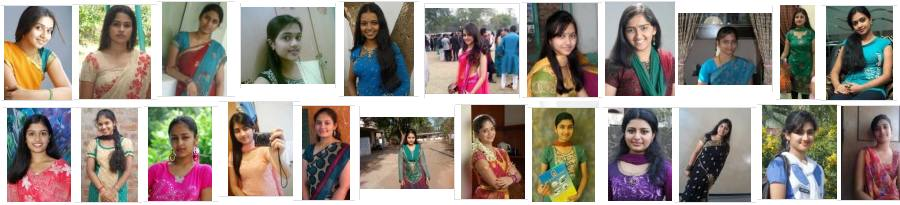 Homely looking Indian girls