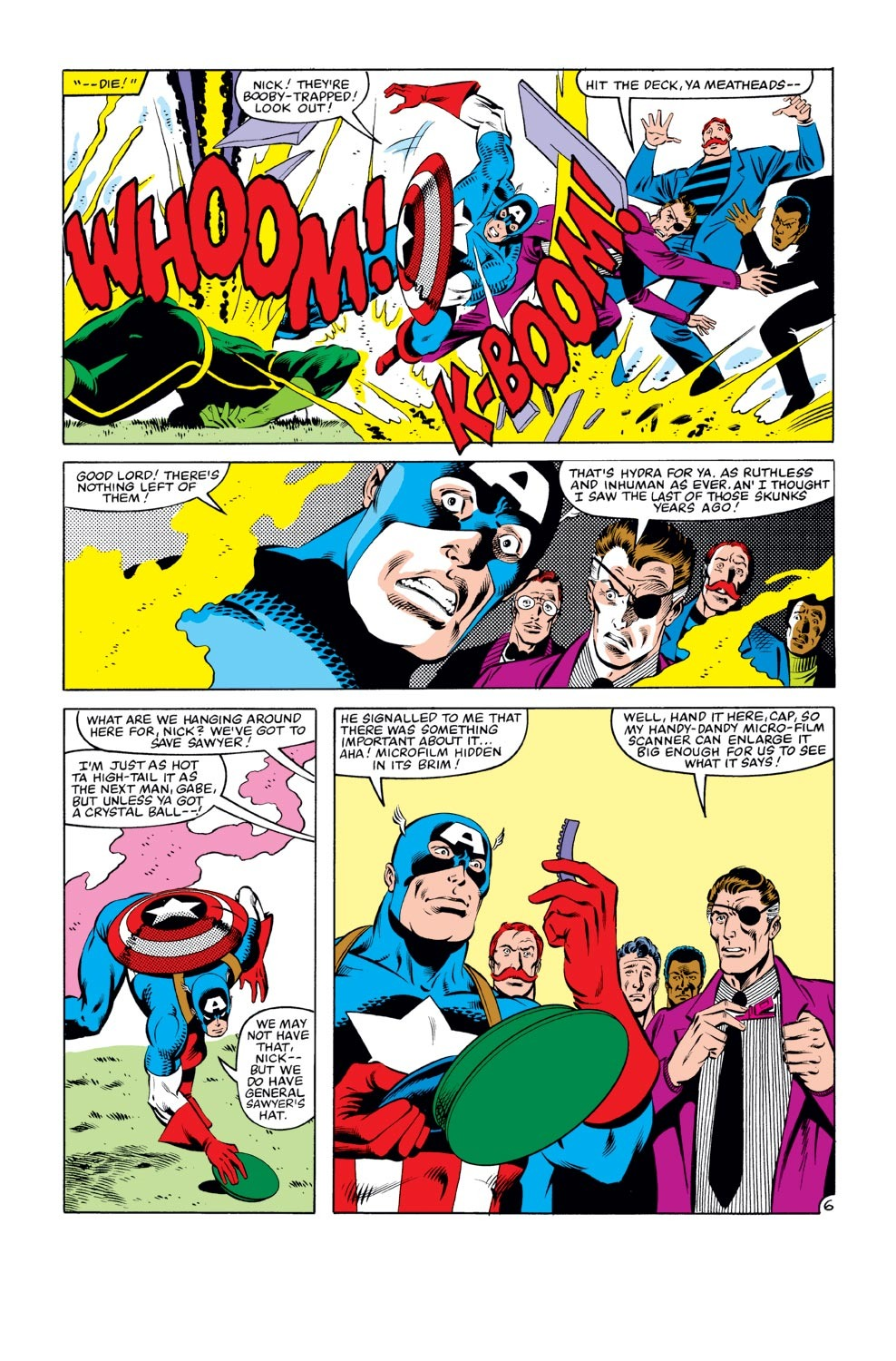 Captain America (1968) Issue #273 #189 - English 7