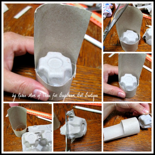 how to make mini chair by newspaper