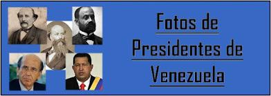 Fotos de casi todos los Presidentes de Venezuela