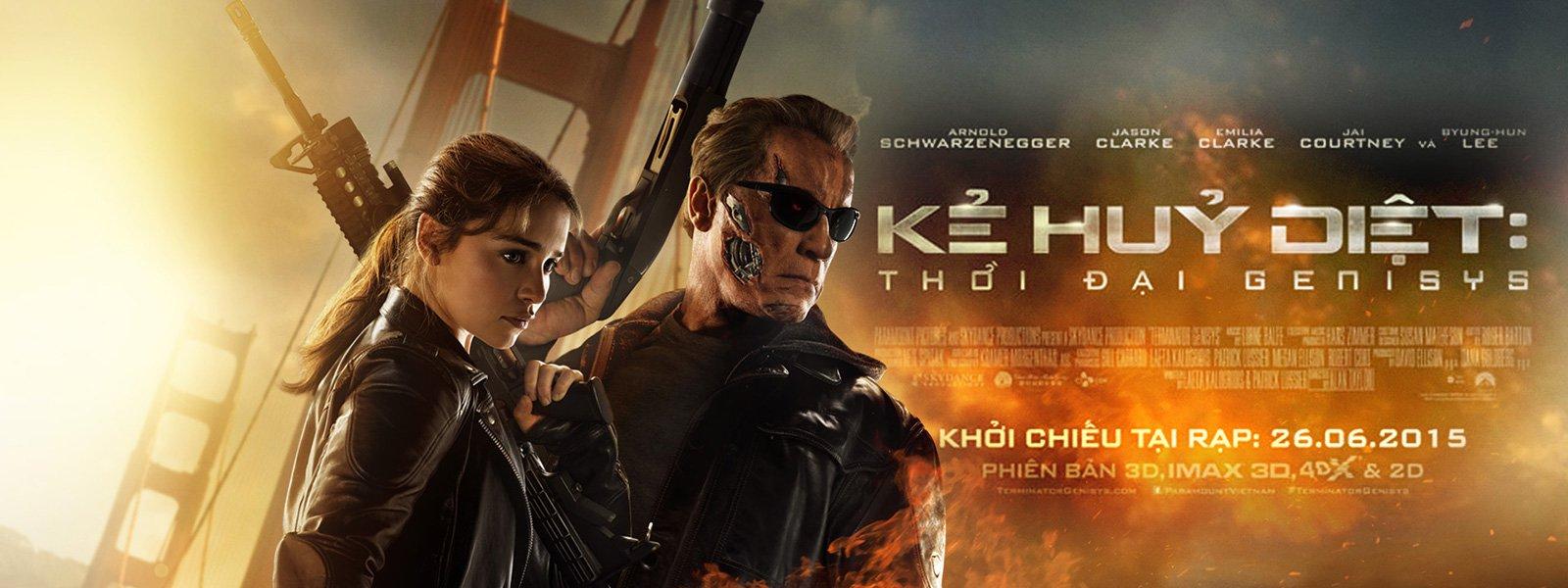 Kẻ Hủy Diệt 5: Nguồn Gốc Kẻ Hủy Diệt - Terminator Genisys - 2015