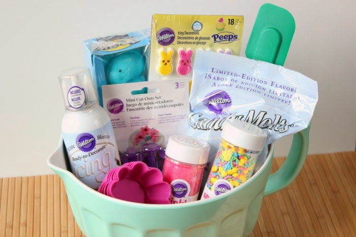 Easter Basket Idea for The Aspiring Baker via framedfrosting.com