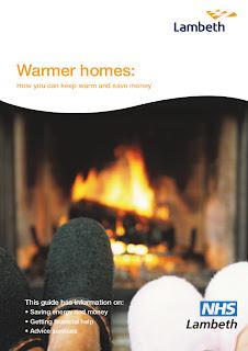 Warmer homes leaflet frontcover image