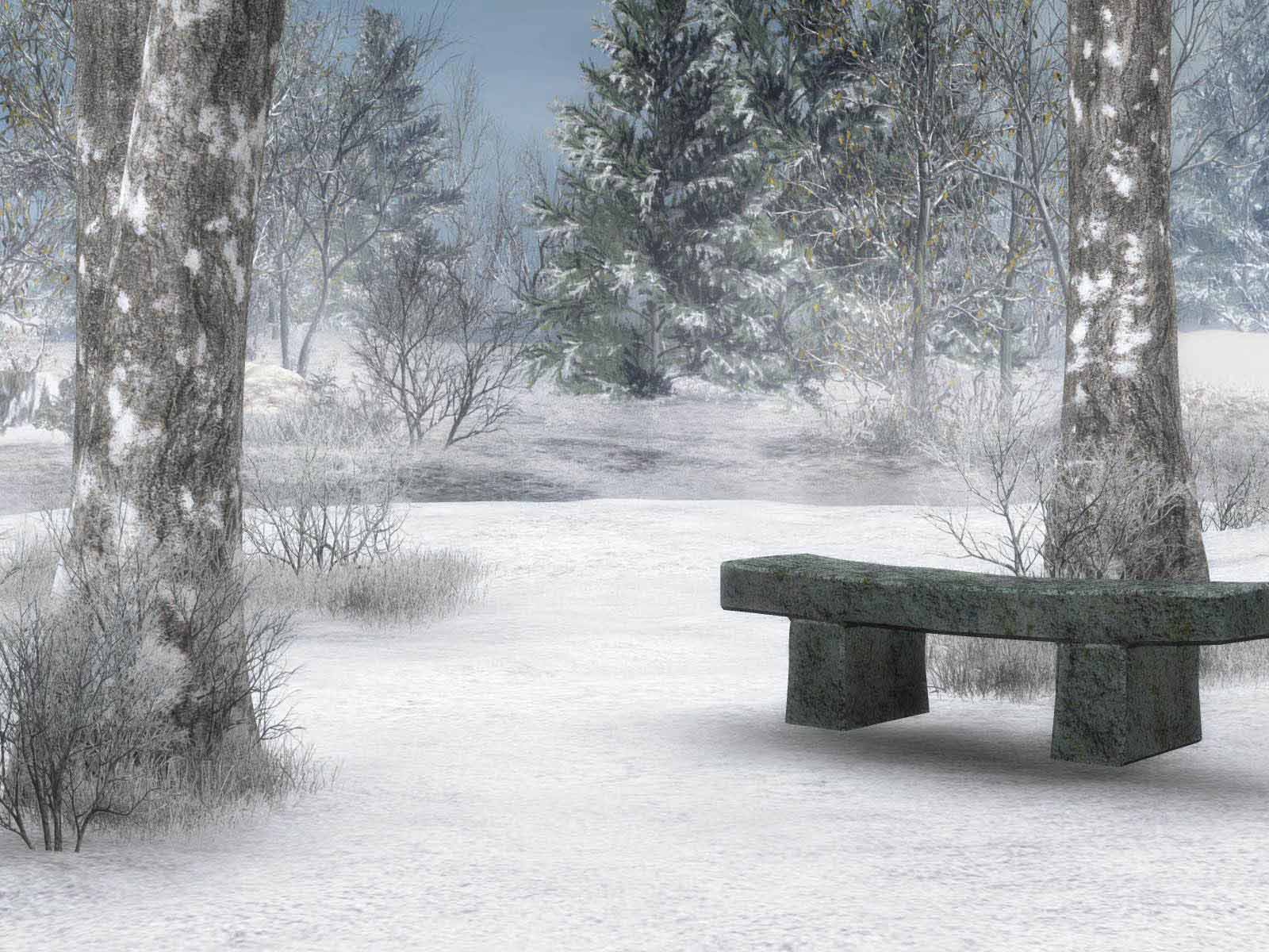 Hd Wallpapers Winter Scenes For Desktop