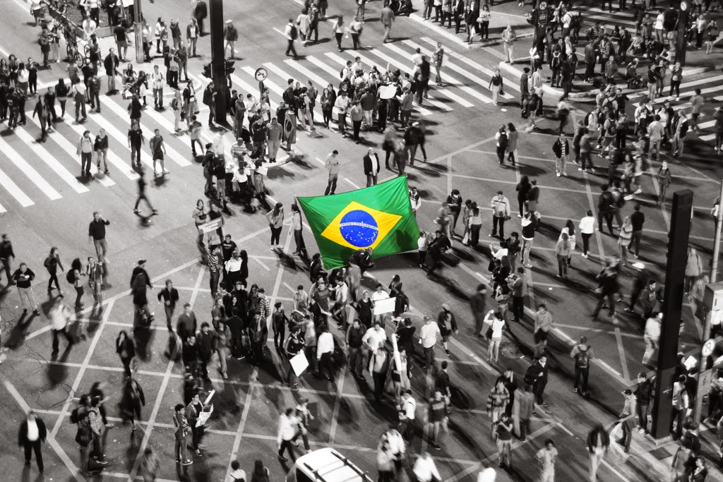 Brasileiros nas ruas