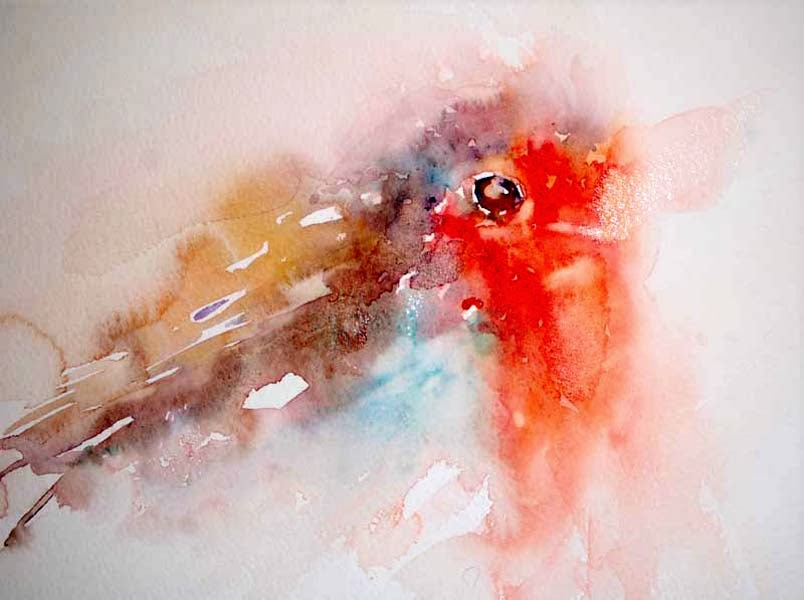 Watercolours With Life Robins In Watercolour