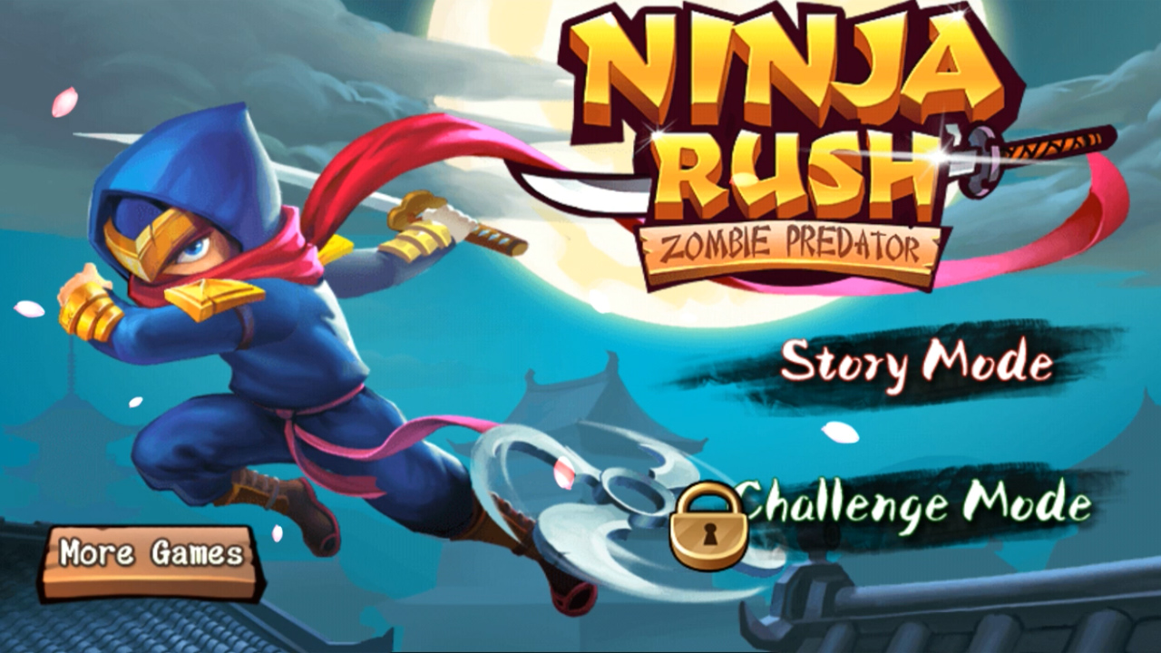 Ninja Rush Zombie Predator Gameplay Android