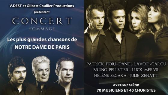 Notre-Dame de Paris, le concert