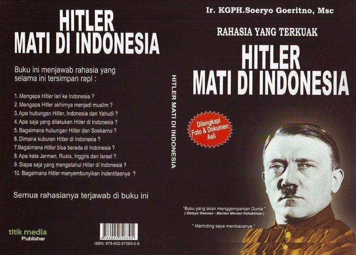 Adolf Hitler meninggal di Surabaya