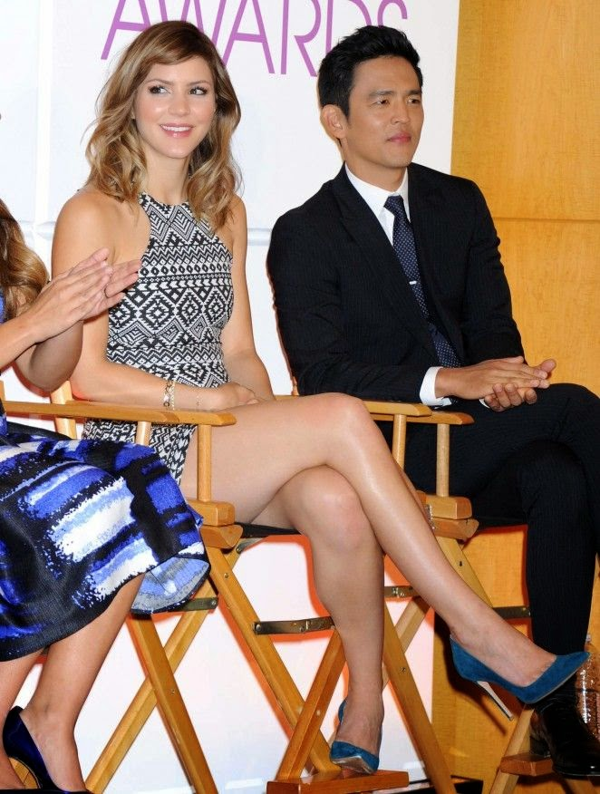 What is going on here? In just two months, Katharine McPhee showed off her already more slim. The singer tried to be the perfect package on Tuesday, November 4, 2014 at the People's Choice Awards in Los Angeles, CA, USA.