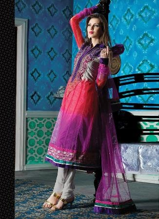 Anarkali Embroidered Dresses