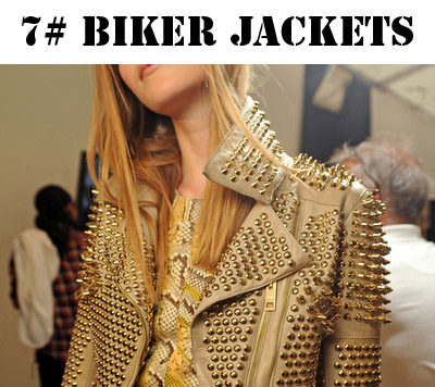 studded biker jacket
