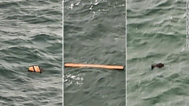 Confirma el hallazgo de los restos del vuelo 8501 de AirAsia