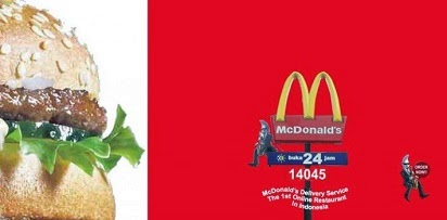 Lengkap Harga Menu Delivery McDonald Indonesia,
