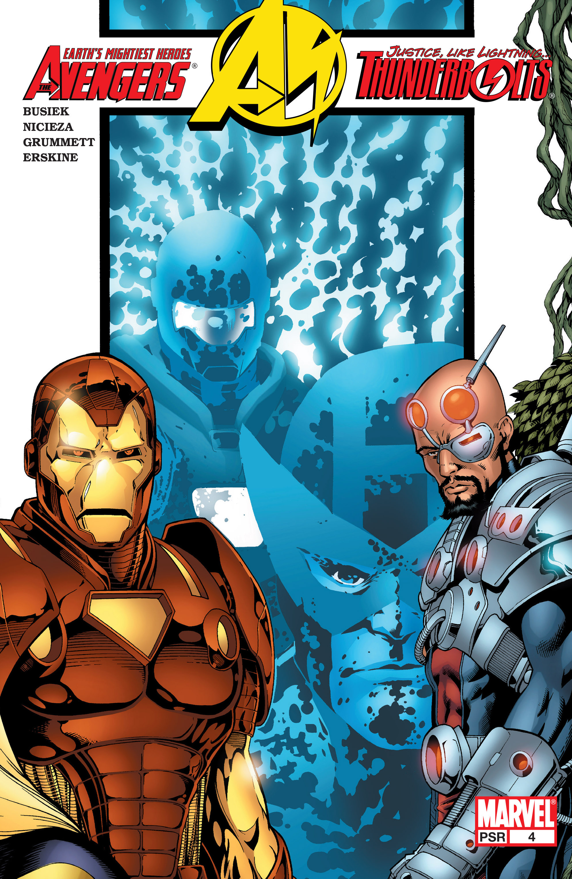 Avengers/Thunderbolts 4 Page 1