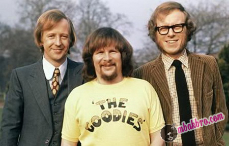 trio The Goodies