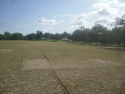 Picture's of our baseball field. A view of the outfield