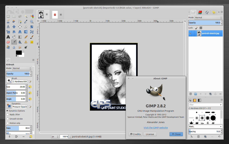 Install Gimp 2 8 2 In Ubuntu Precise Pangolin Web