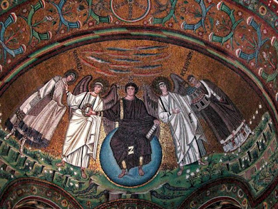 Iglesia de San Vitale en Rávena  - Italia