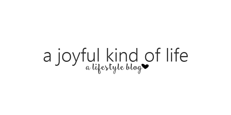 A Joyful Kind of Life