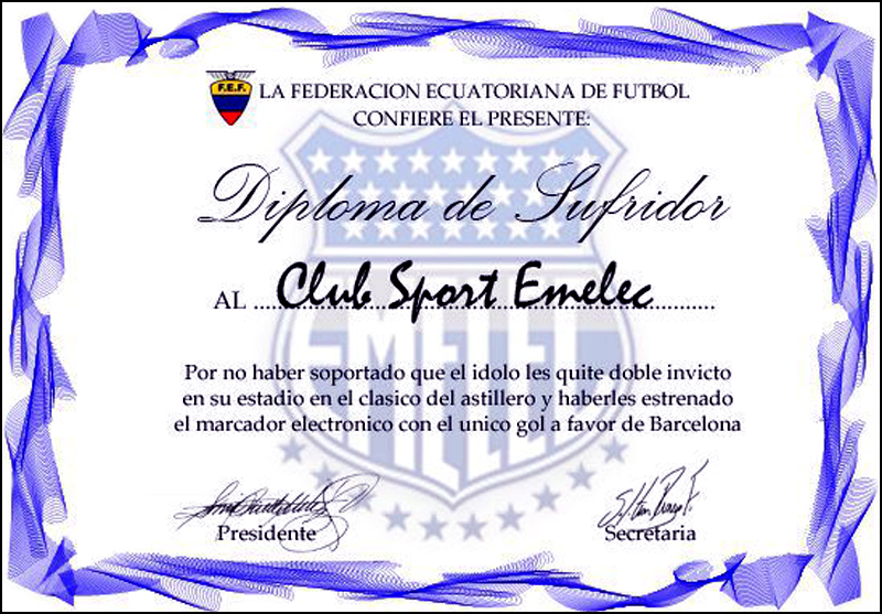 Diplomas De Futbol