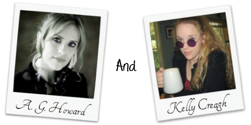 A.G. Howard and Kelly Creagh