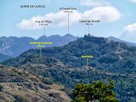El Castell de Torelló des de Can Pontet