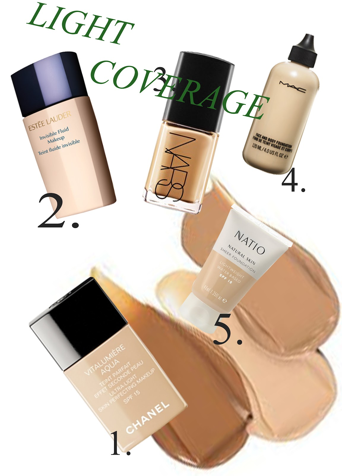 Beaut gazette a foundation guide for all skin types - Best kind of foundation pict ...