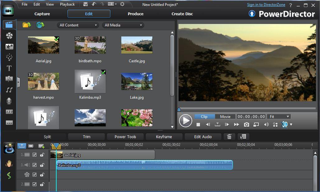 powerdirector dvd menu templates - milan review rating cyberlink media suite 10 ultra