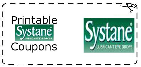 picture about Systane Coupons Printable called Printable Systane Coupon codes Printable Grocery Discount coupons