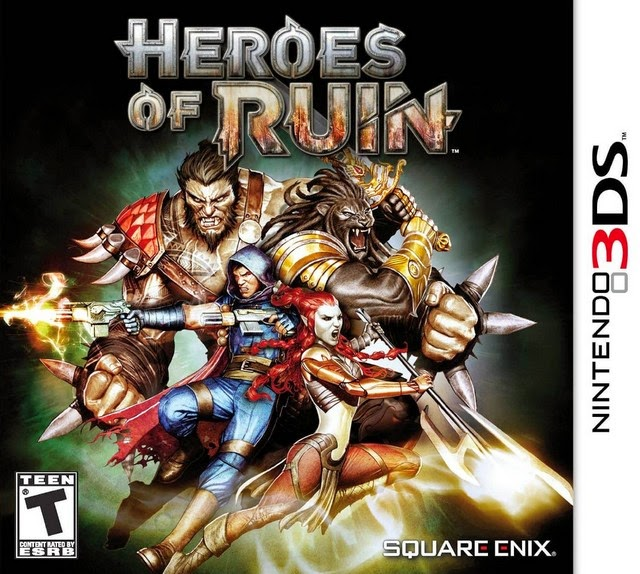 3DS Heroes of Ruin Cover
