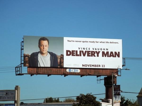 Delivery Man film billboard