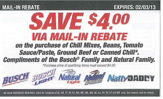 Rebate coupons typically
