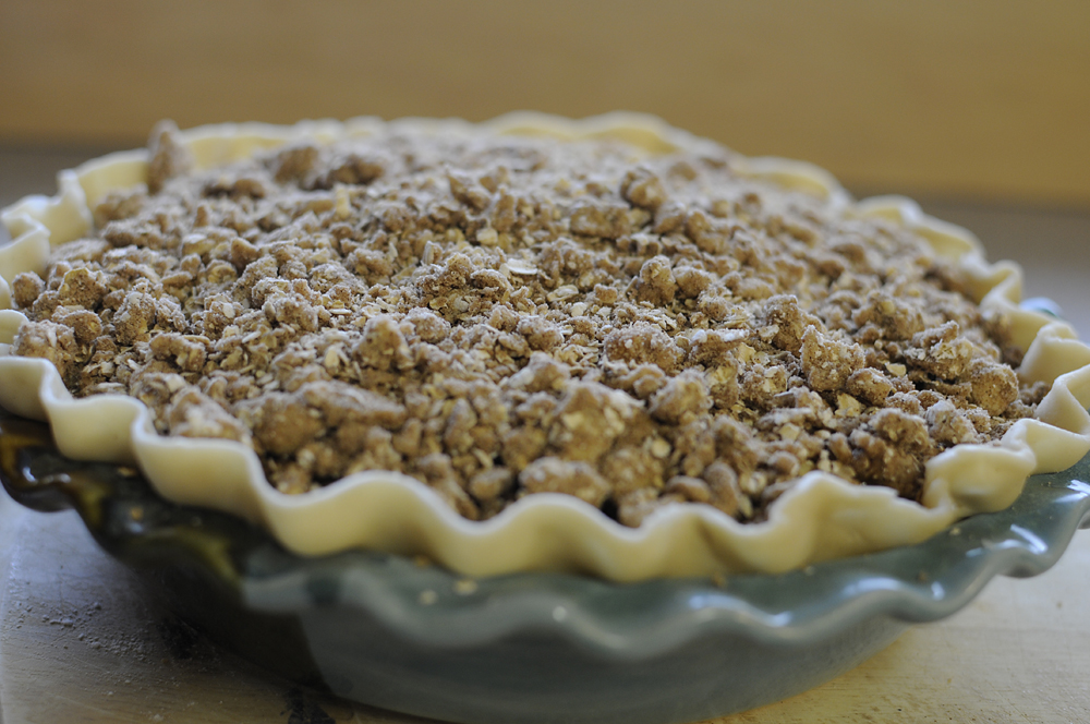 how to make apple crisp pie