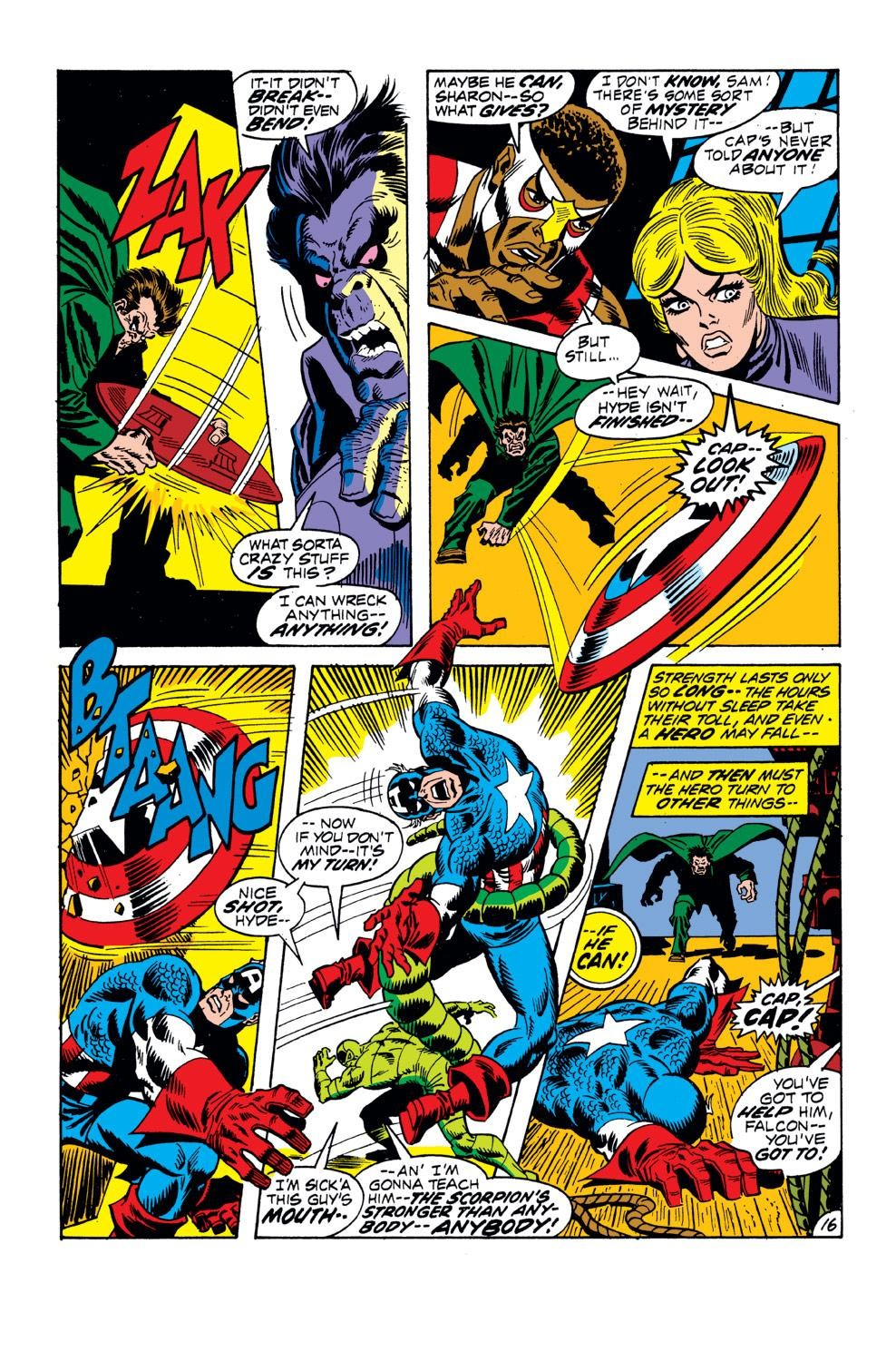 Captain America (1968) Issue #152 #66 - English 17
