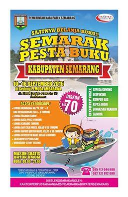 Semarak Pesta Buku Kabupaten Semarang 2015