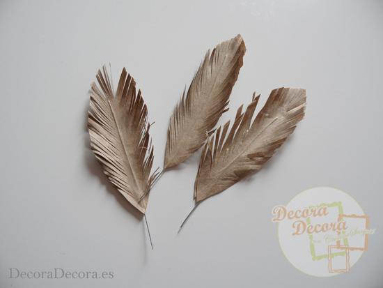 ¿Cómo hacer plumas de papel?