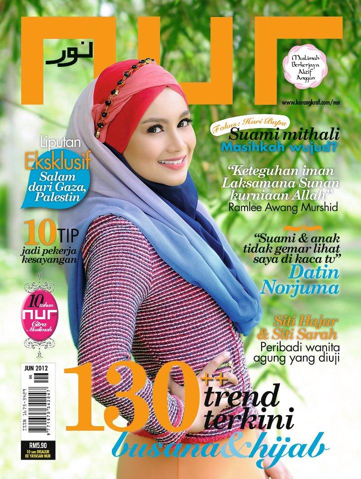 Majalah Nur - Cover Datin Norjuma