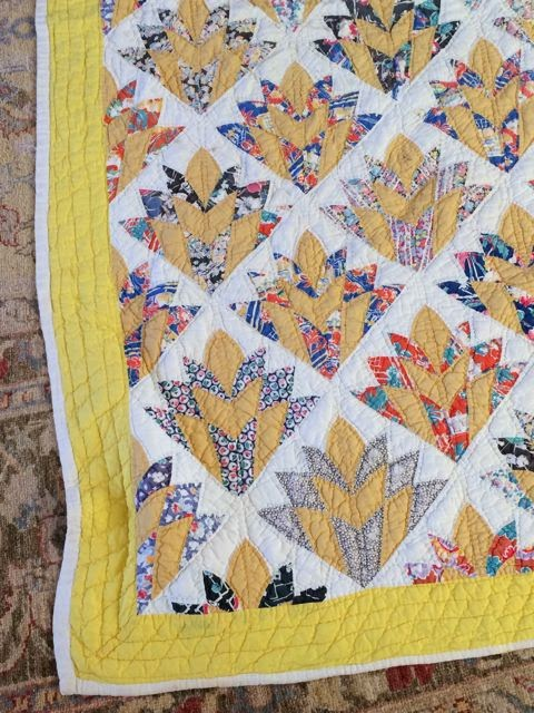 What are quilters blogging about today