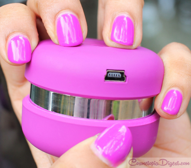 Le Mini Macaron Gel Manicure Kit in Grape