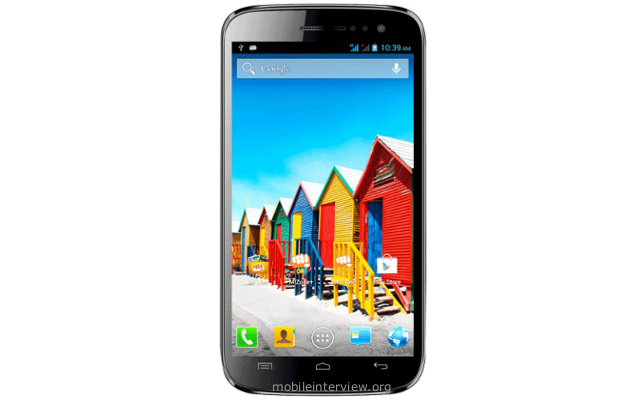 Micromax Canvas 3 HD A116i