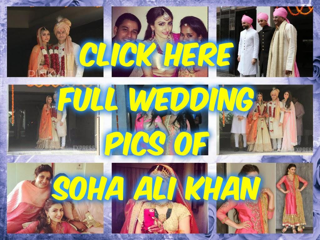 full wedding pics of soha ali khan