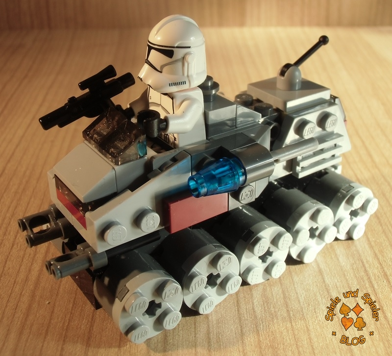spiele und spieler lego star wars 75028 clone turbo tank microfighters series 1. Black Bedroom Furniture Sets. Home Design Ideas