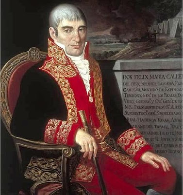 Imagen de Félix María Calleja sentado