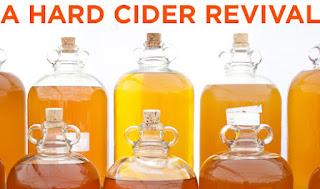 Hard Ciders fermenting