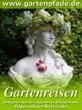 Reisen zum Grün von Gartenpfade